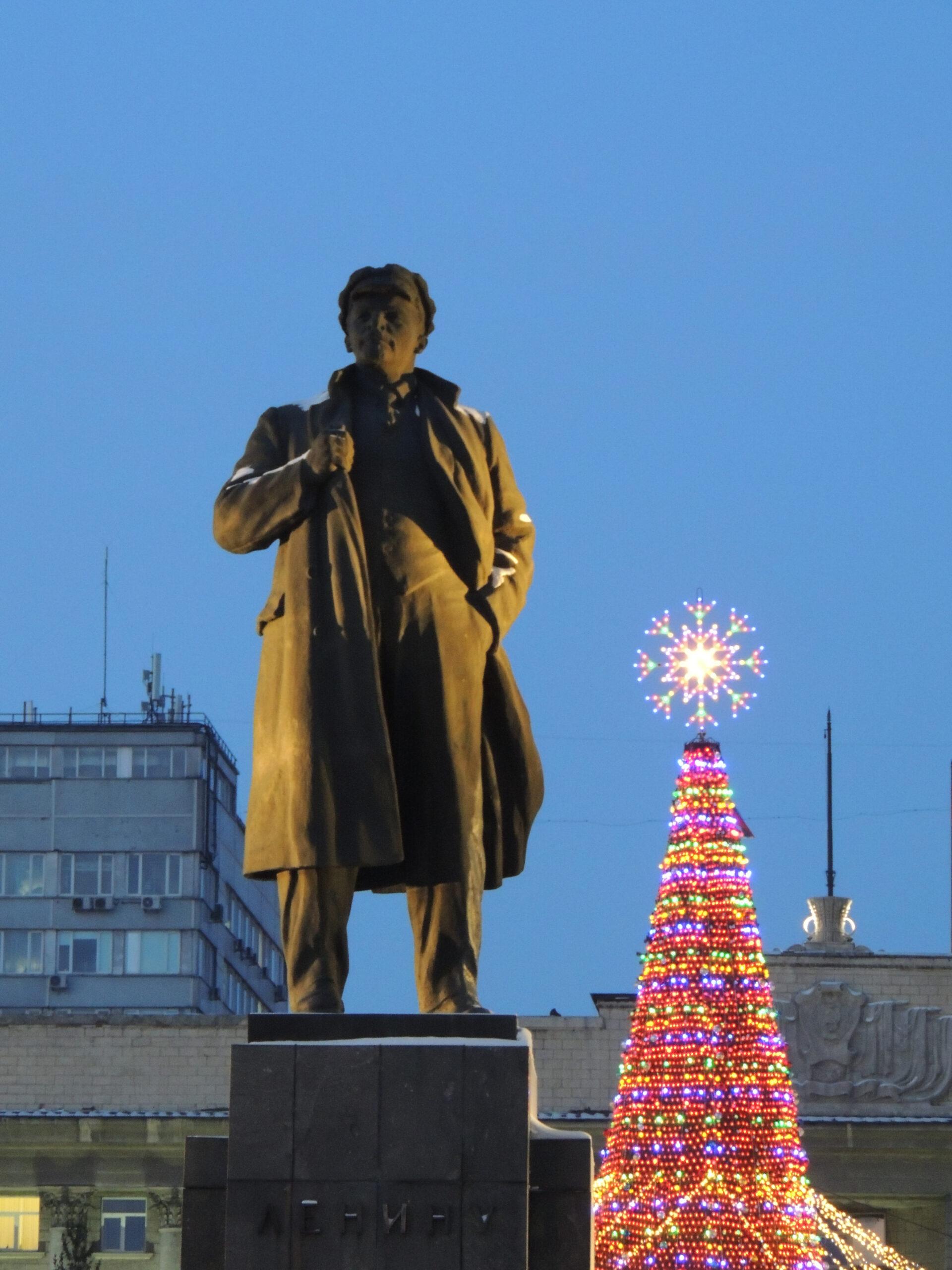 Новогоднее настроение вКрасноярске. Часть 2