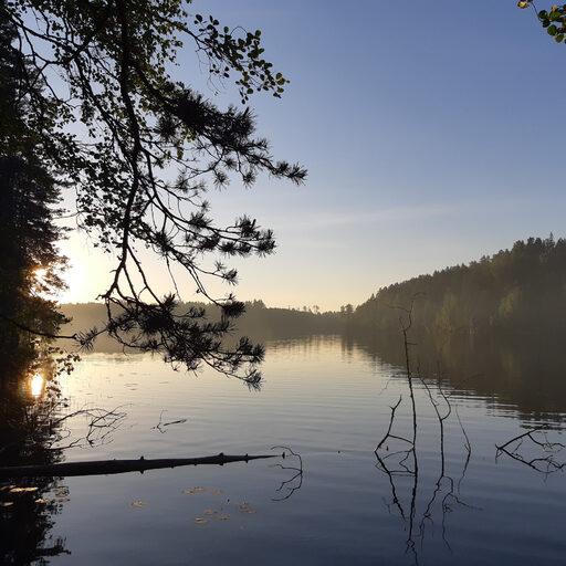 Поход по озёрам севера Ленинградской области.