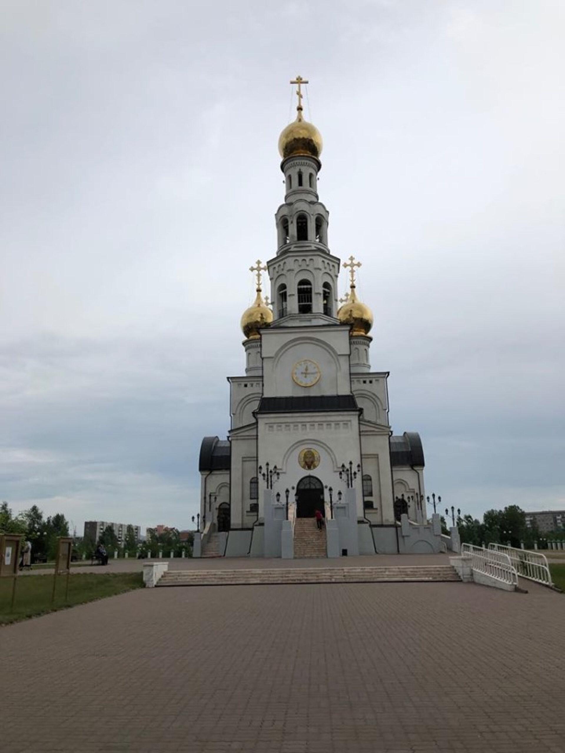 Спасо-Преображенский кафедральный собор вАбакане (Хакасия)