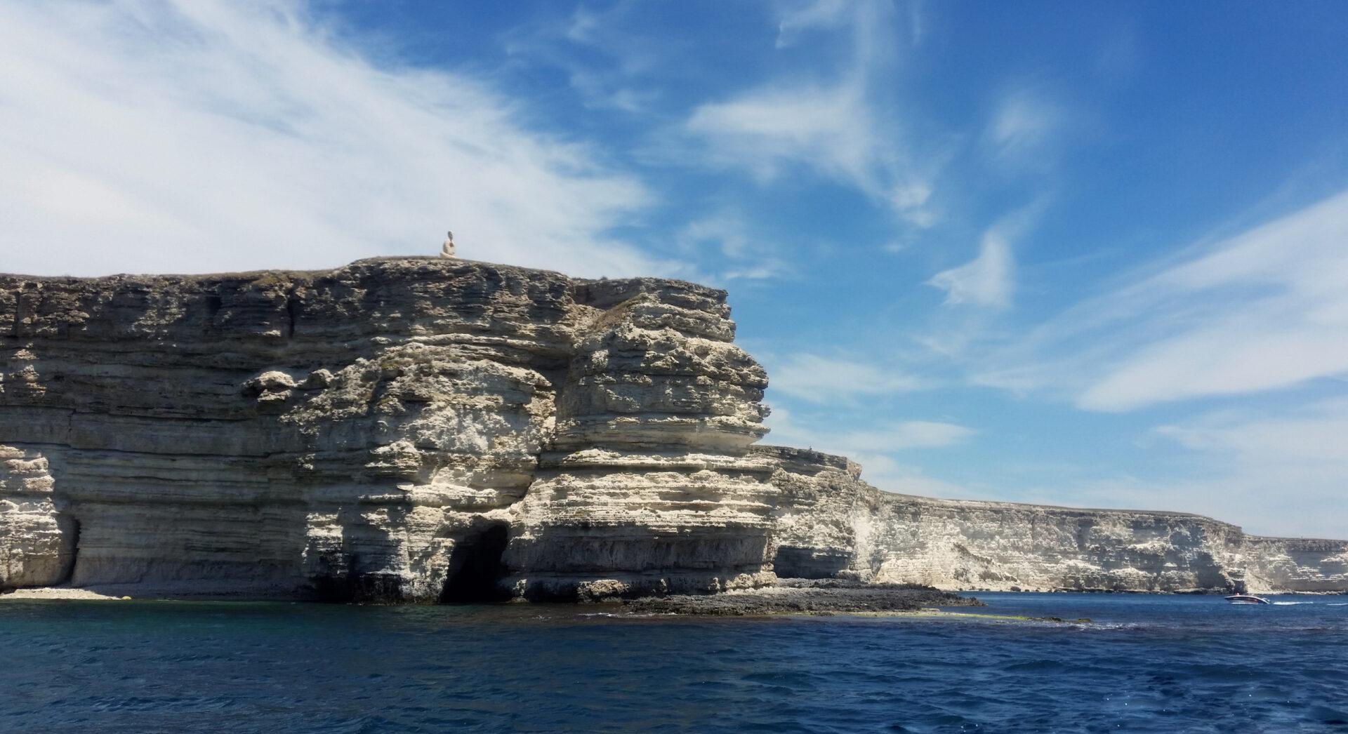 Водная экскурсия вдоль побережья Тарханкута