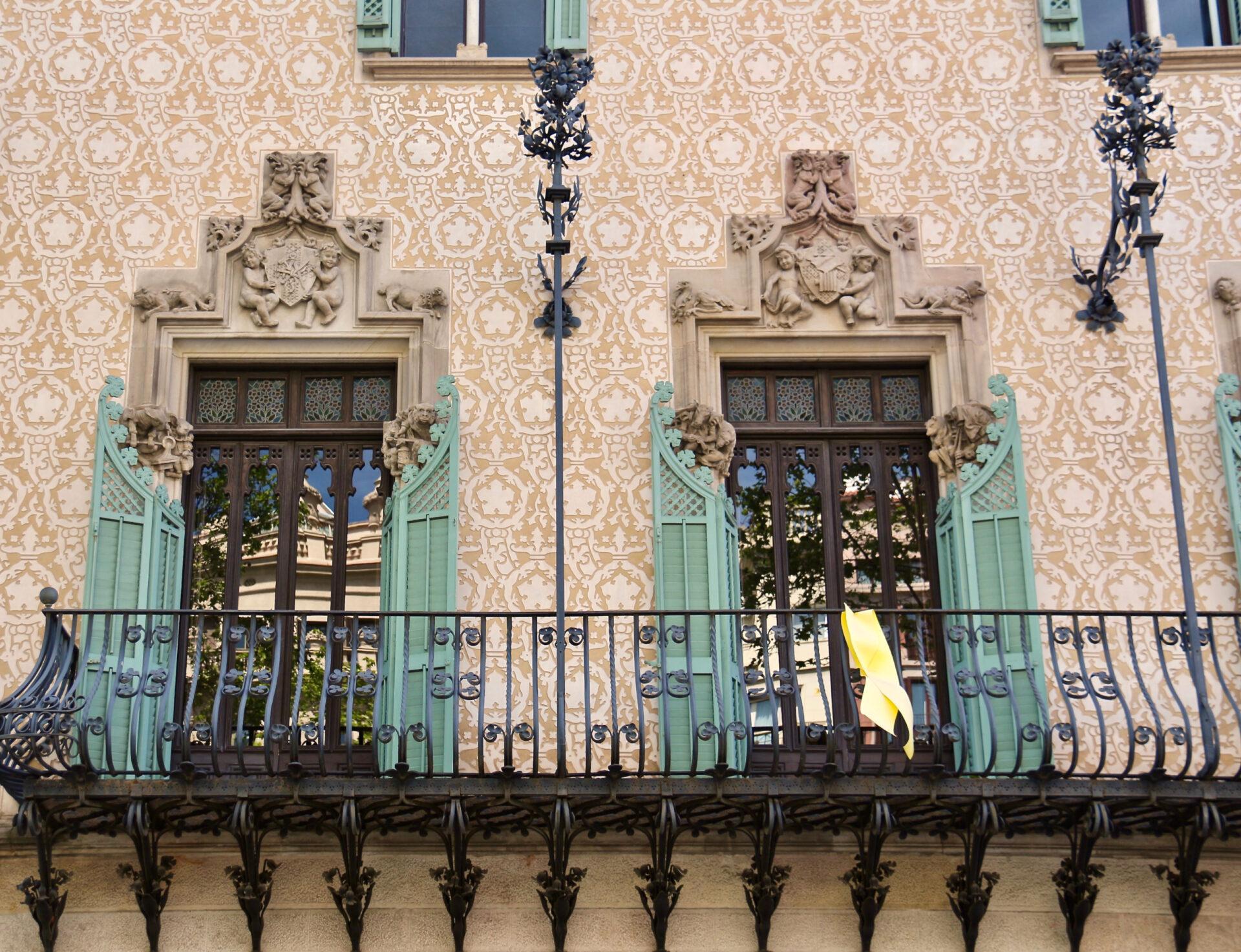 Был такой конкурс «Испанские каникулы»))) Самые красивые дома вБарселоне.