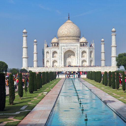 Тадж Махал -памятник неземной любви и скорби