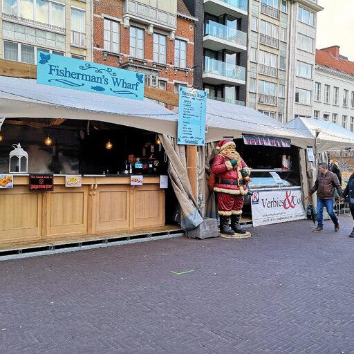 Рождественская ярмарка в Leuven