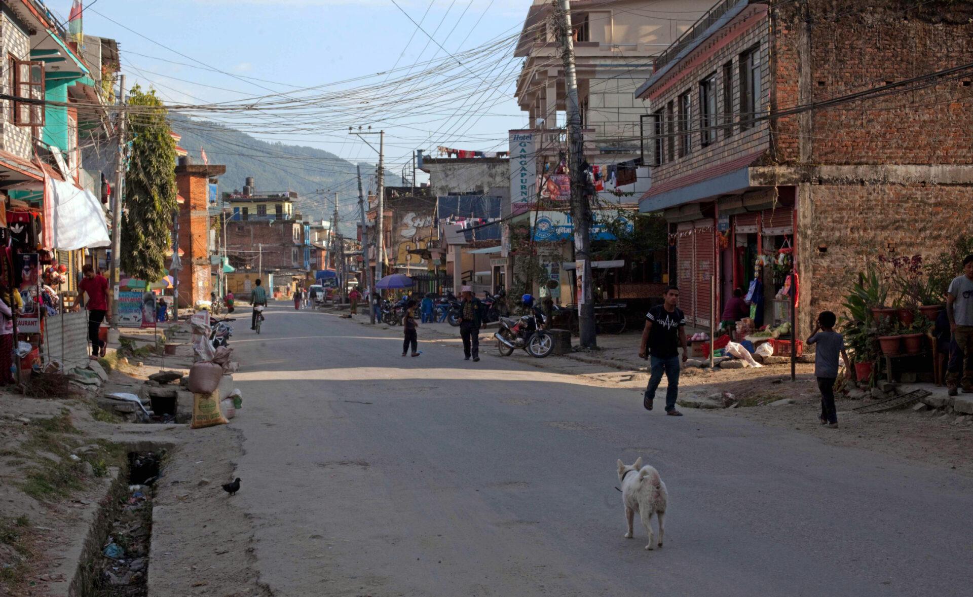 ИзКатманду наначало маршрута через Бесисахар