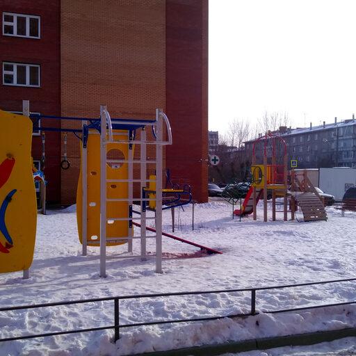 В Красноярске тает снег