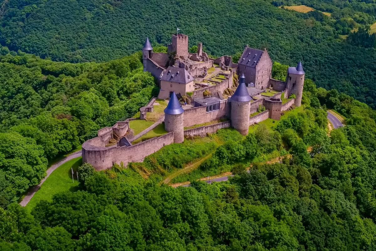 Замок Буршайд Люксембург