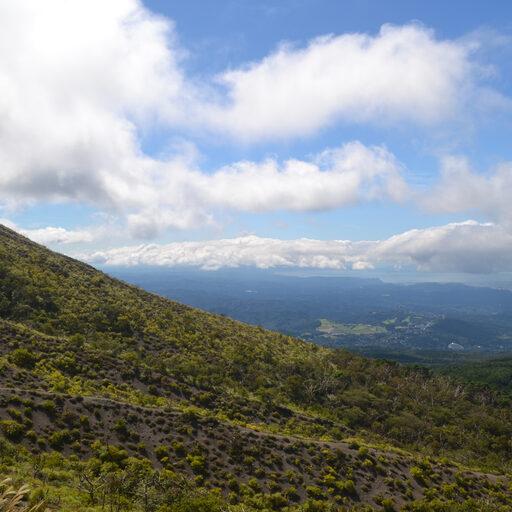 Вулкано-hiking в префектуре Миядзаки