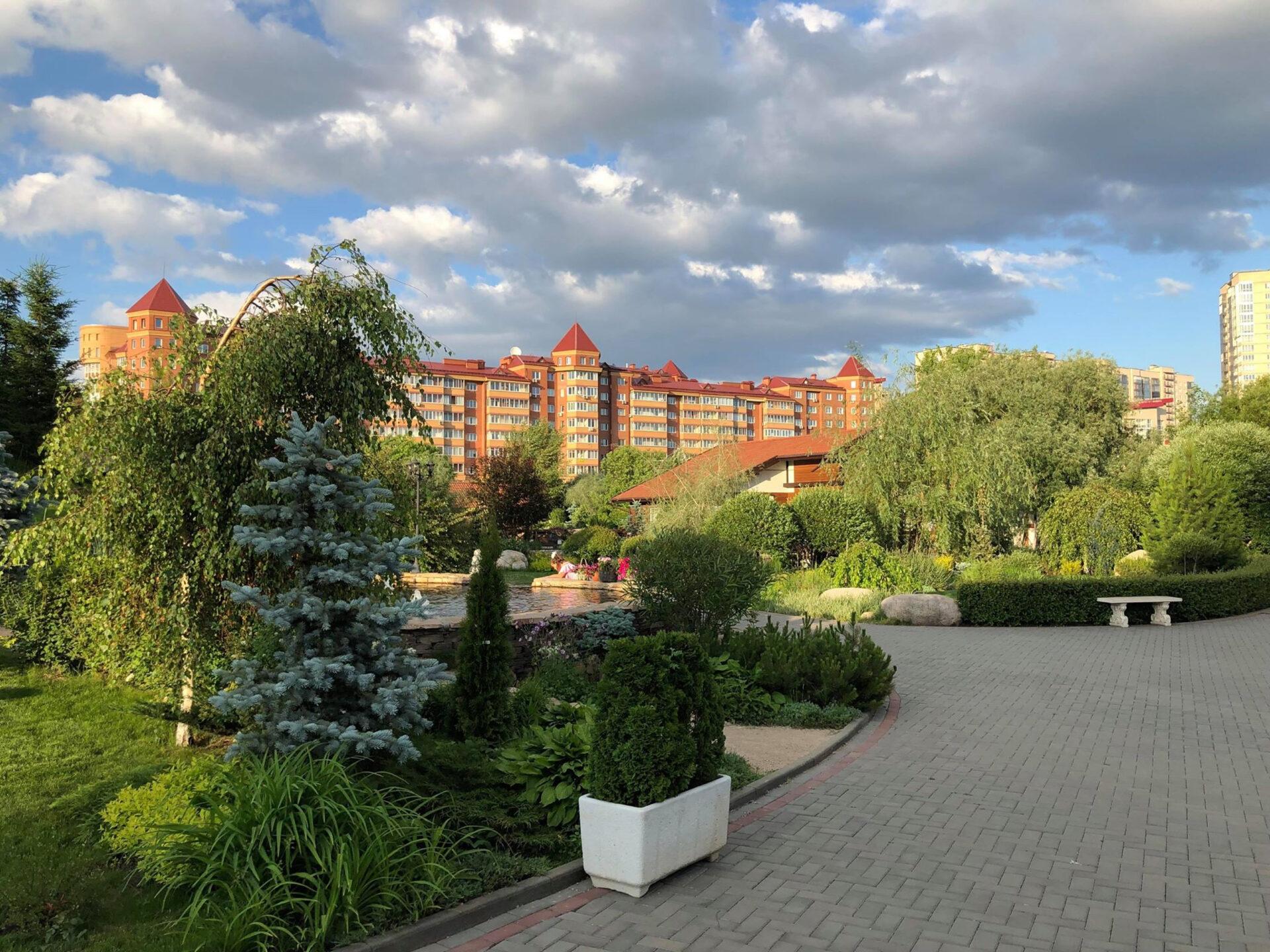 Прогулка попарку «Сады мечты» вКрасноярске