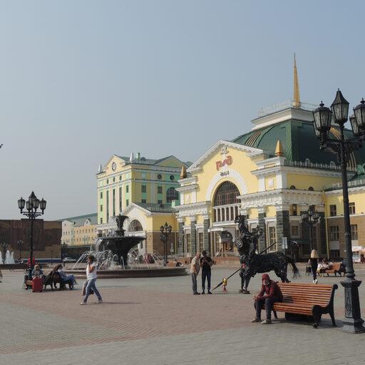 Центр Красноярска. Часть 1: улица Маркса