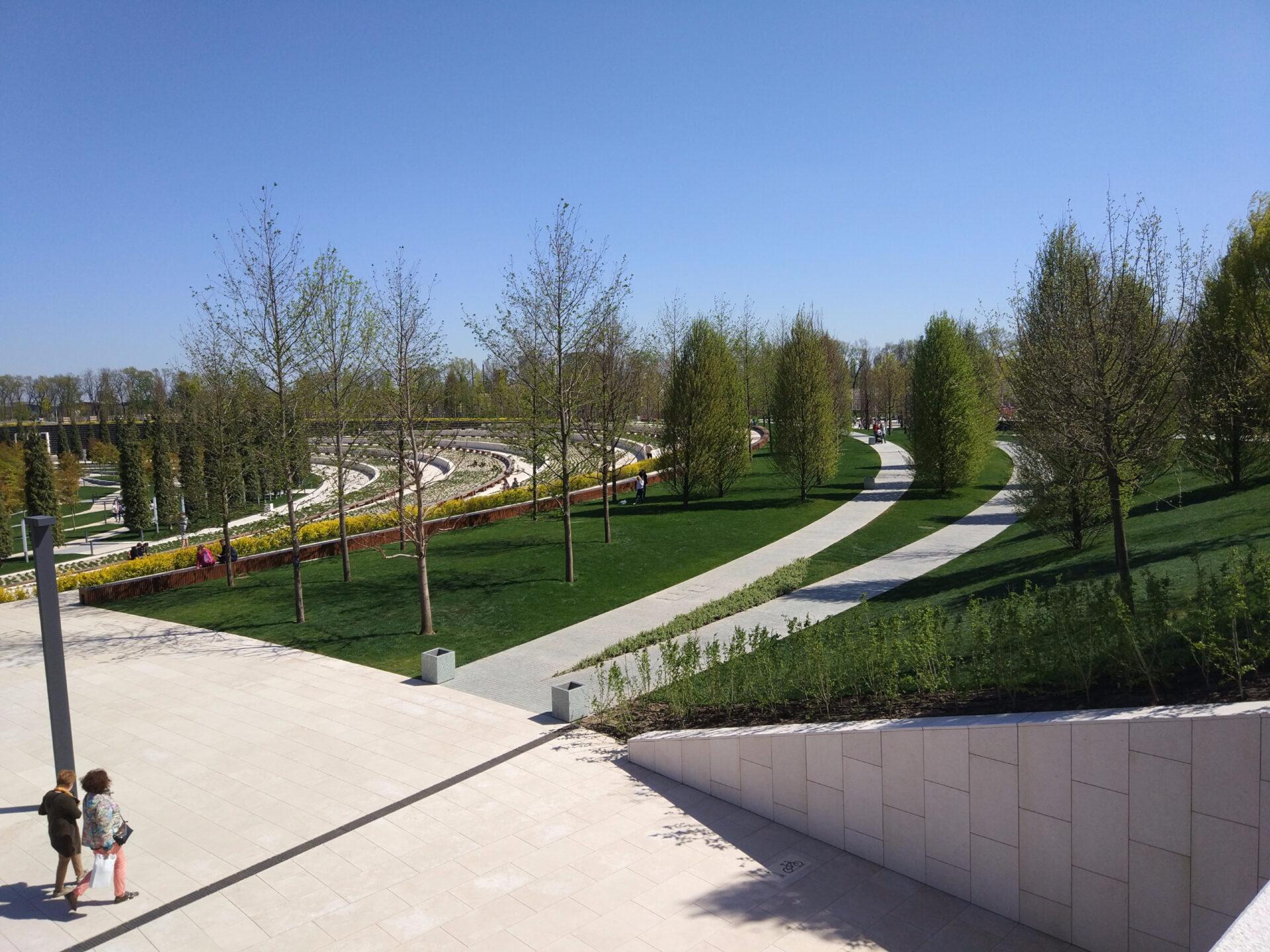 Самый крутой российский парк вКраснодаре…