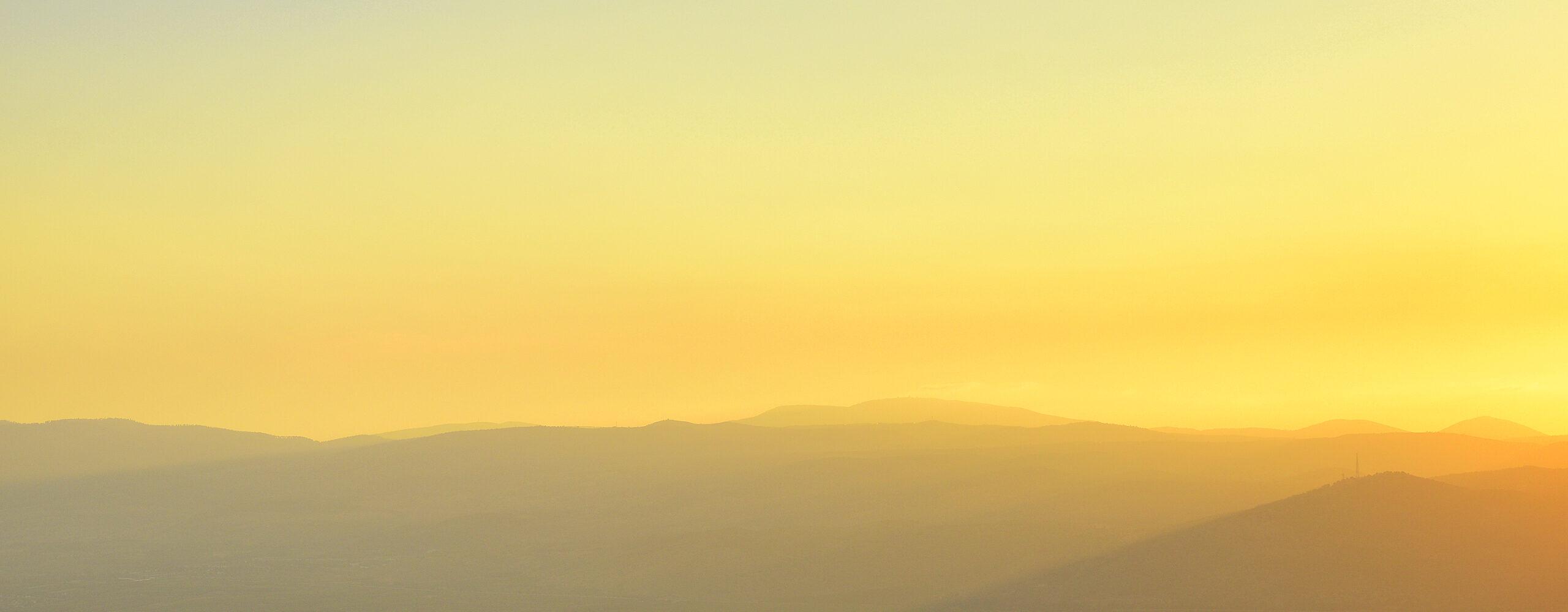 Голанские высоты. Гора Бенталь.