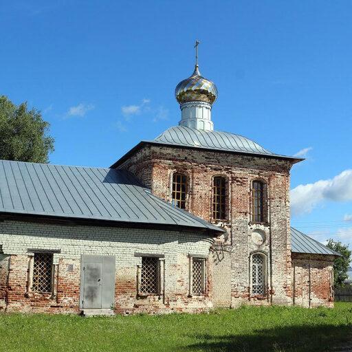 Казанская церковь в селе Шадрино