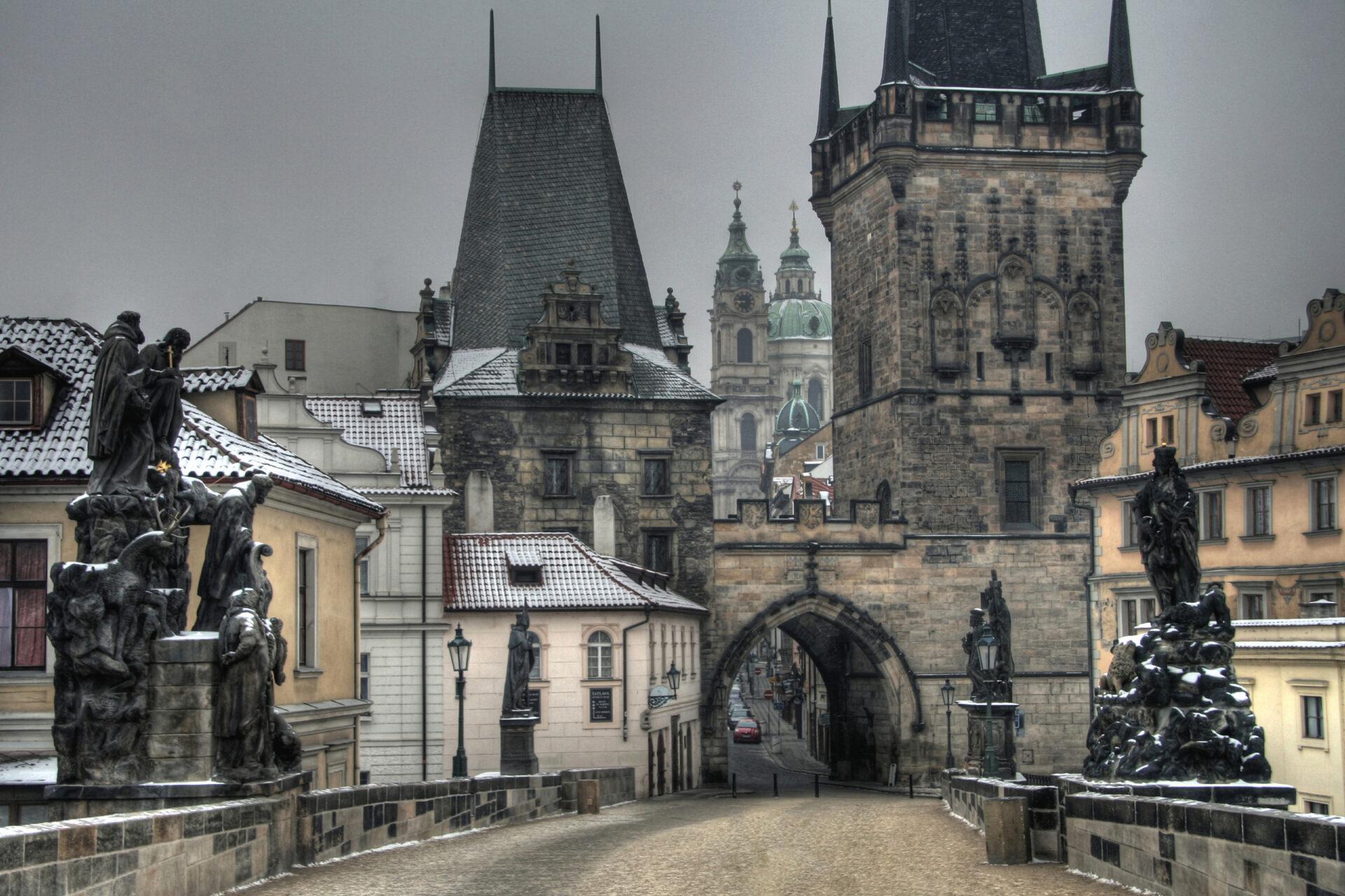 Прага всегда прекрасна.