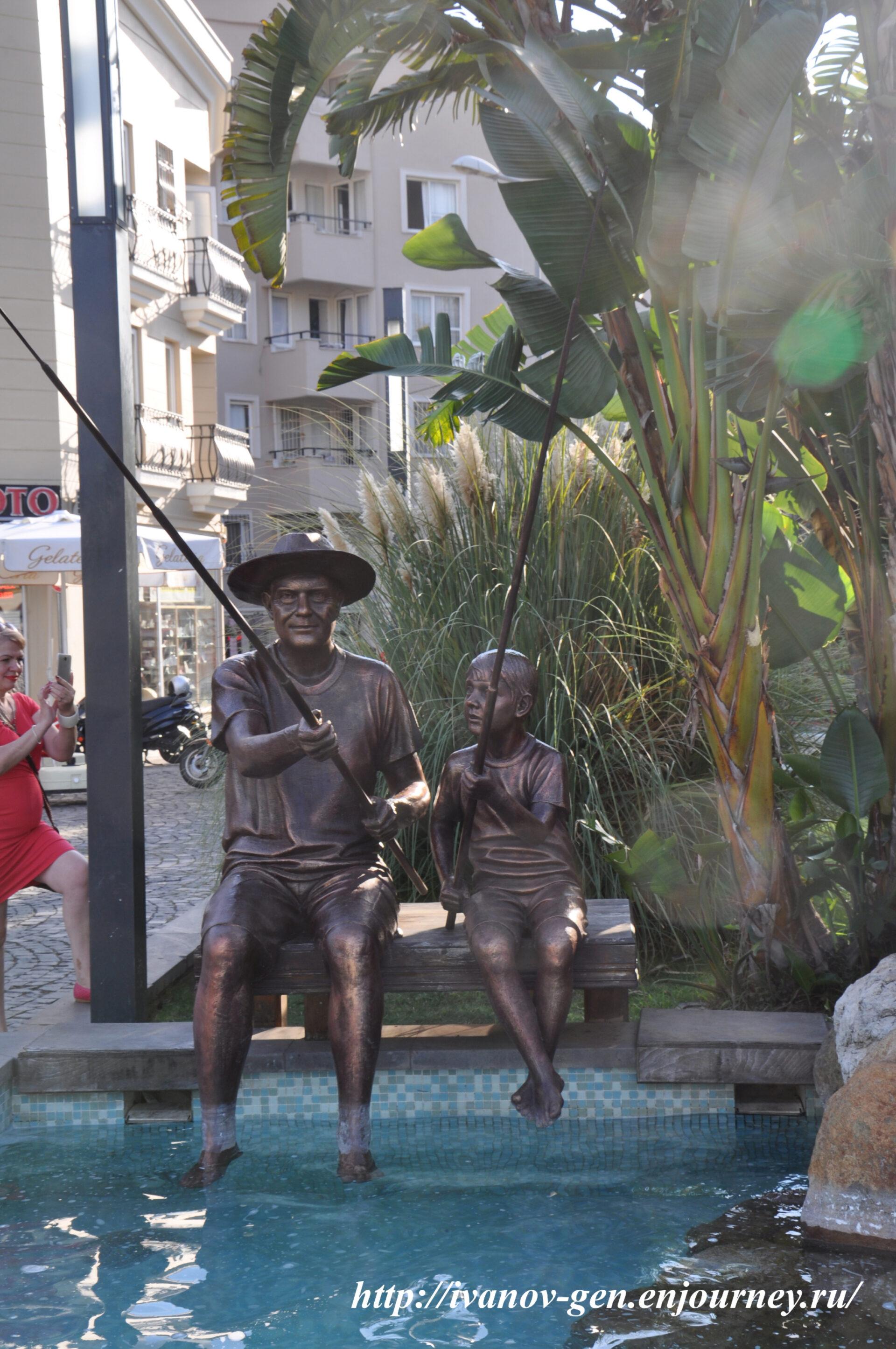 Турецкие каникулы или арт-объекты туристического Мармариса