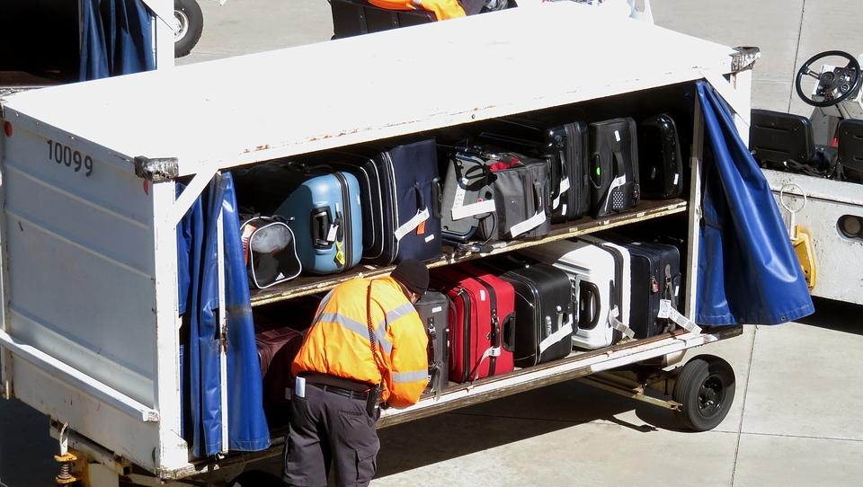 Перевозка багажа в аэропорту