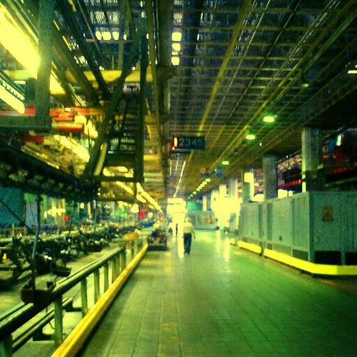 Завод Зил. Лето 2003 года.