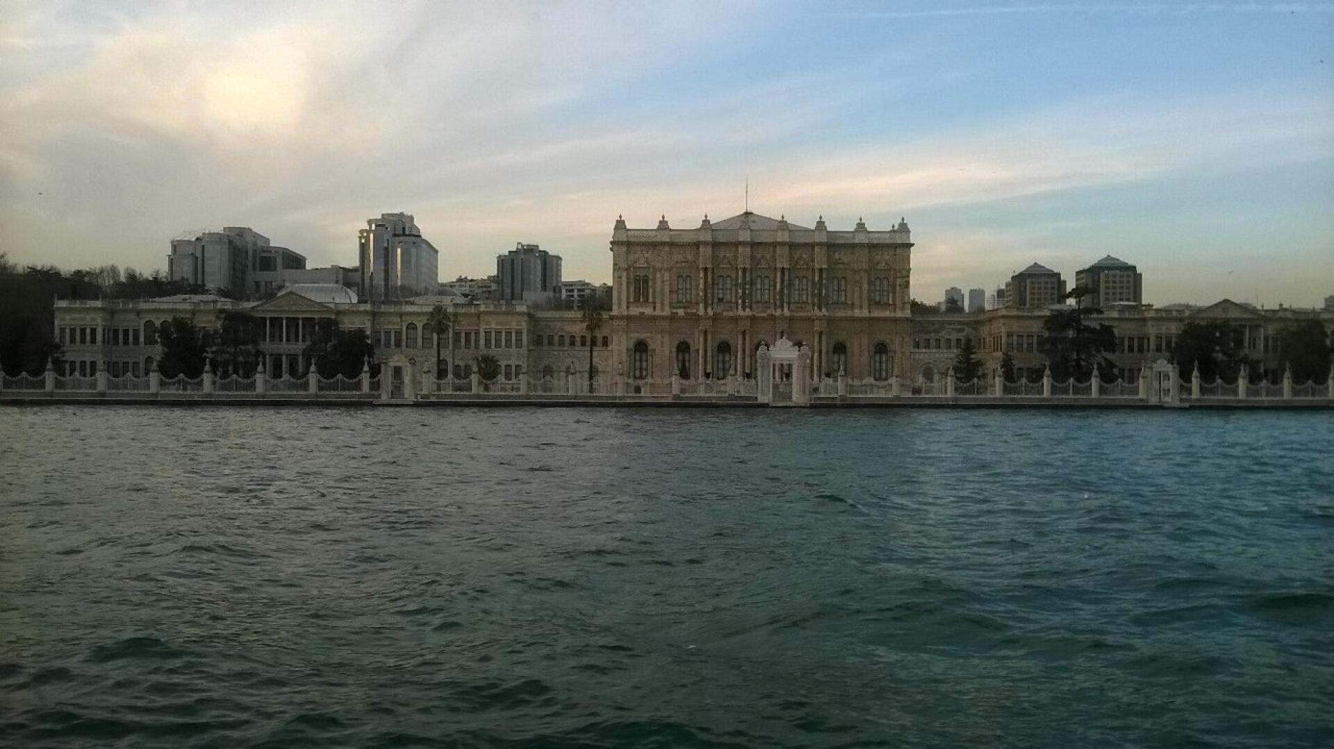 Исторический Стамбул.