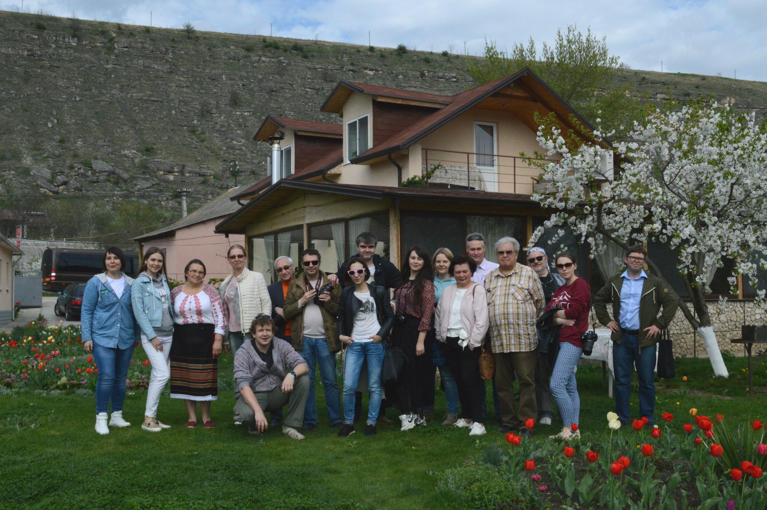 Участники пресс-тура из России и Беларуси