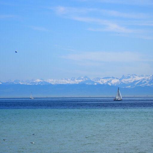 Юг Германии. Озеро Бодензее. Остров цветов Майнау. Май 2109 г.-1.